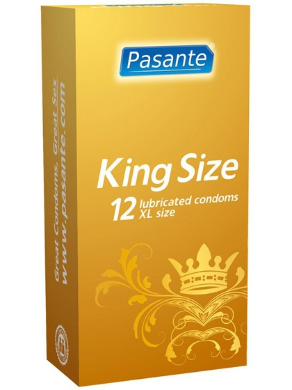Pasante King Size - Kondomer (12-pack)