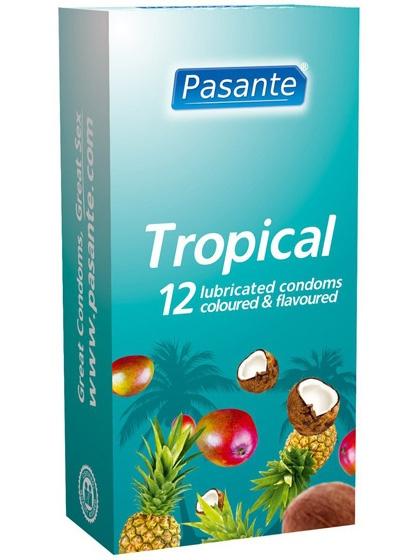 Pasante Tropical - Kondomer (12-pack)