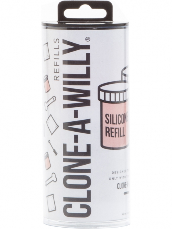 Clone-A-Willy - Silicone Refill (ljus hudton)