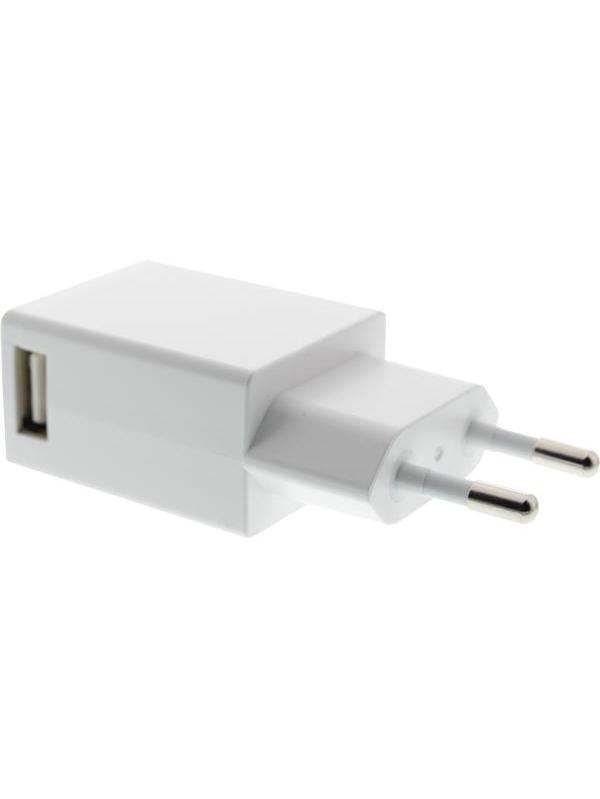 USB-Väggladdare - 5V (vit)