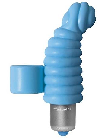 Belladot - Ingrid, Fingervibrator (blå)