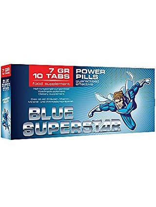 Pharmquests - Blue Superstar (10 tabletter)