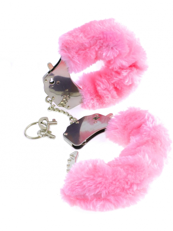 Fetish Fantasy Furry Cuffs (rosa)