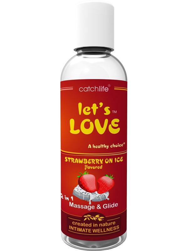 Catchlife - Let´s Love Strawberry on ICE (100 ml)
