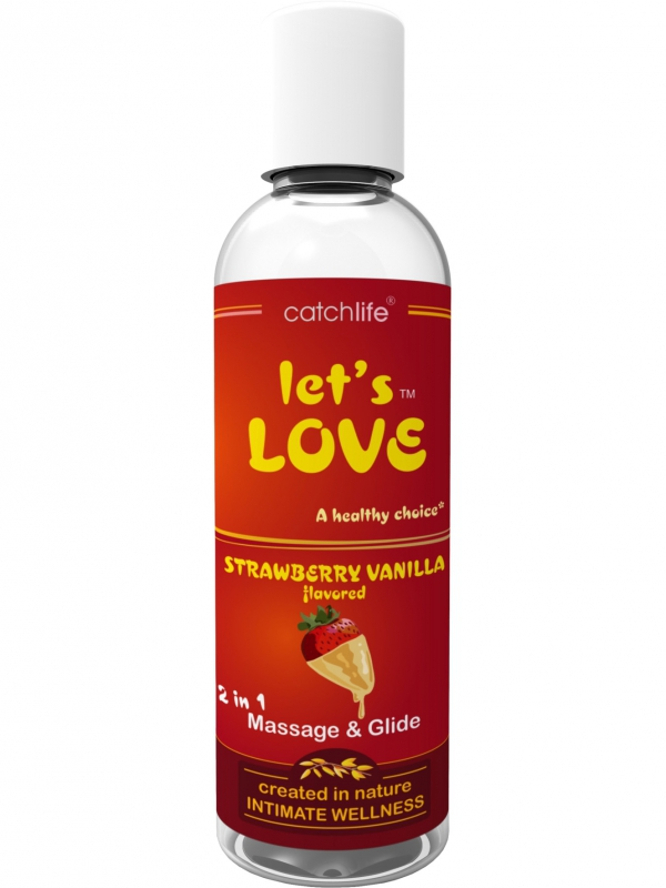 Catchlife - Let´s Love Strawberry Vanilla 100 ml