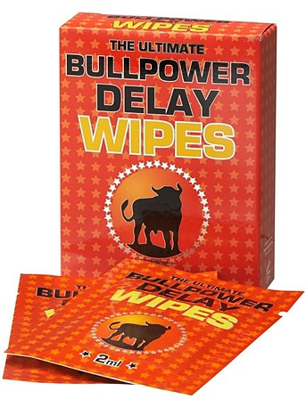 Bull Power - Delay Wipes (6x2 ml)