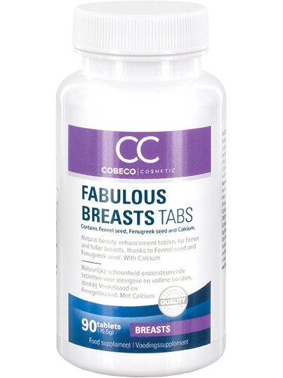 Cobeco - Fabulous Breasts Tabs (90 tabletter)