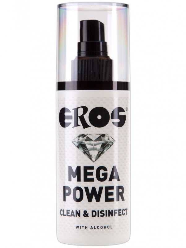 Eros - Mega Power Clean & Disinfect (125 ml)