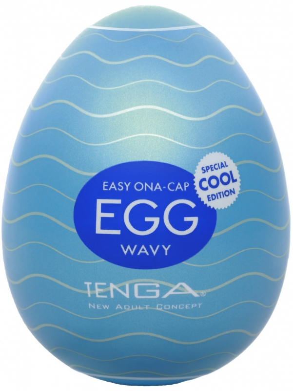 Tenga Egg - Wavy - Cool Edition