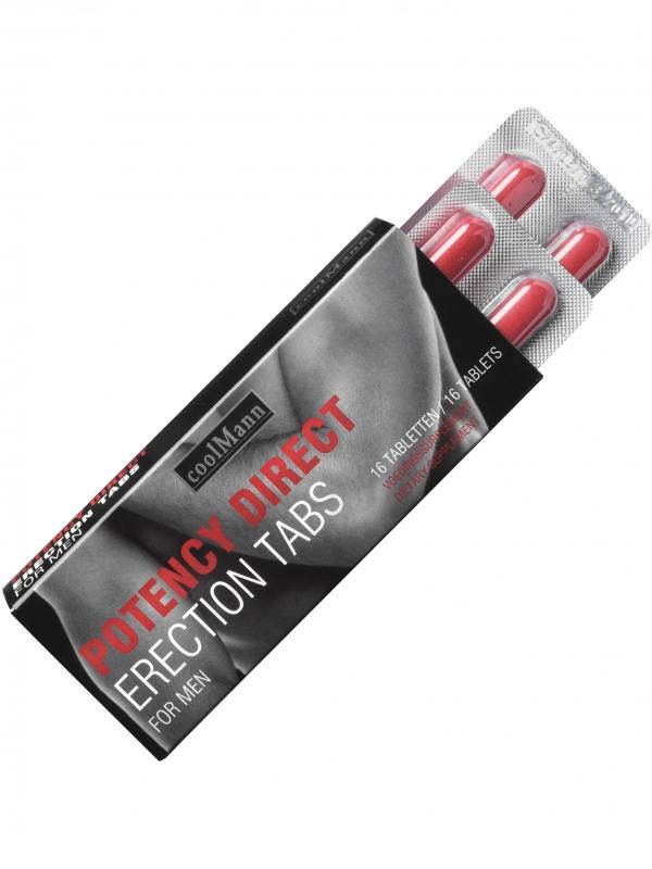 CoolMann - Male Potency Direct (16 tabletter)