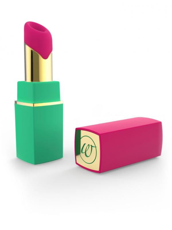 Womanizer - 2GO (grön/rosa)