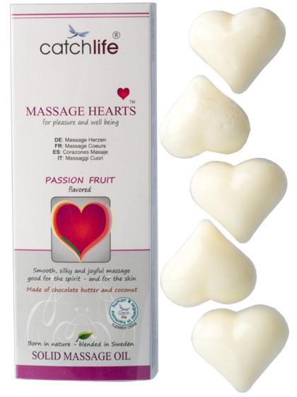 Massage Hearts - Passionsfrukt