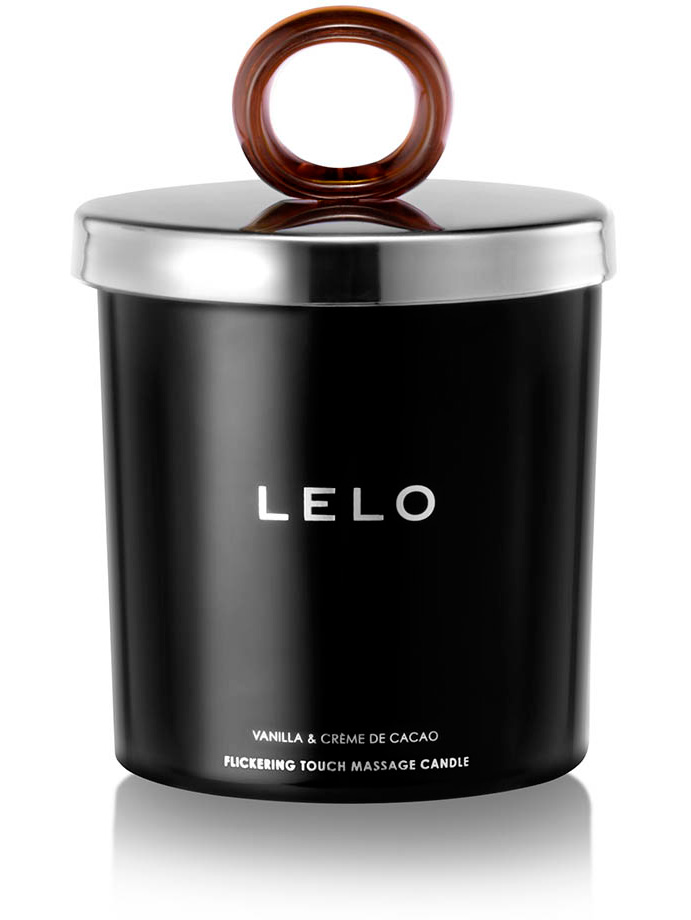 LELO Flickering Touch Massage Candle - Vanilj & Kakaocreme