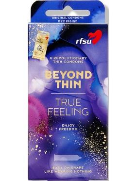 RFSU Beyond Thin, True Feeling (8-pack)