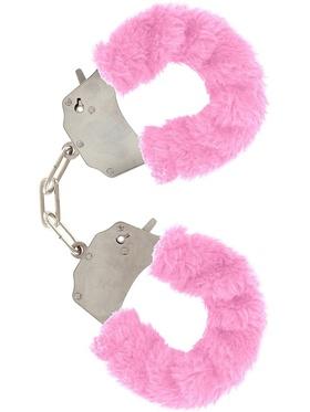 Toy Joy - Furry Fun Cuffs Plush (rosa)