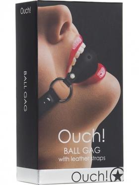 Ouch! - Ball Gag (svart)