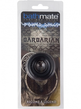 Bathmate - Power Rings - Barbarian (svart)