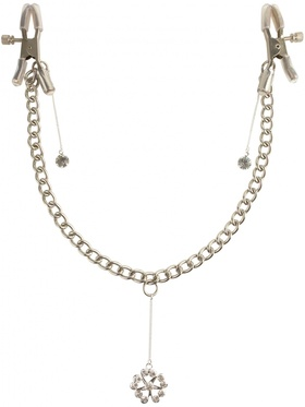 Pipedream Fetish Fantasy - Crystal Nipple Clamps