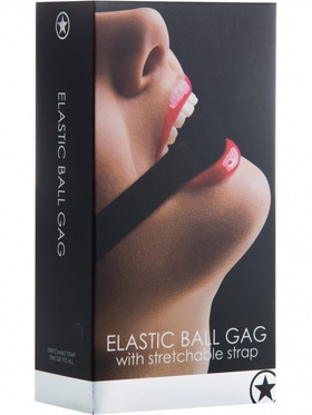Ouch! Elastic Ball Gag (svart)