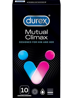 Durex Mutual Climax - Kondomer (12-pack)