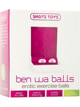 Shots Toys - Ben Wa Balls, Erotic Exercise (silver)