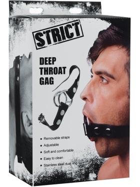 Strict - Deep Throat Gag