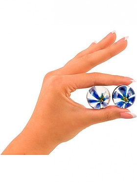Topco - Cyberglass, Ben Wa Balls, Blue Blossom