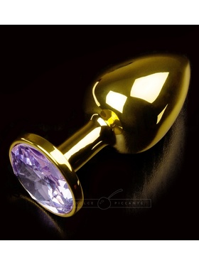 Dolce Piccante - Jewellery Plug Gold, Purple Diamond (small)