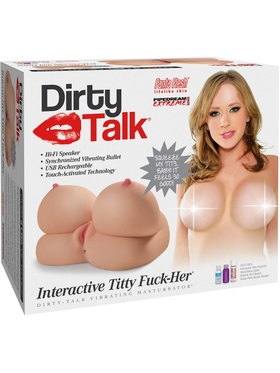 Pipedream - Dirty Talk, Interactive Titty Fuck-Her
