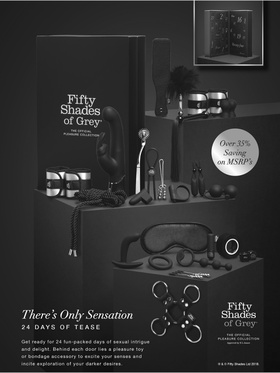 Fifty Shades of Grey - There's Only Sensation, 24 Days of Tease