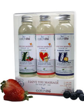 Catchlife - I Love You Massage (3x75 ml)