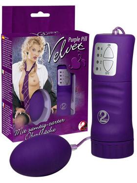 Purple Velvet Pill