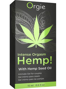 Orgie - Intense Orgasm Hemp, Intimate Gel for Couples (15 ml)