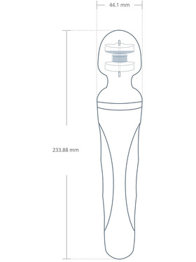 Lovense - Domi 2, Bluetooth Mini Wand