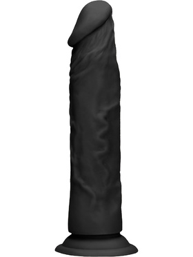 RealRock Skin - Realistisk Dildo (27 cm, svart)