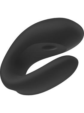 Satisfyer - Double Joy Parvibrator (svart)