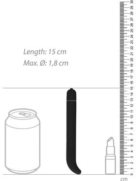 Shots Toys - G-punktsvibrator (svart)